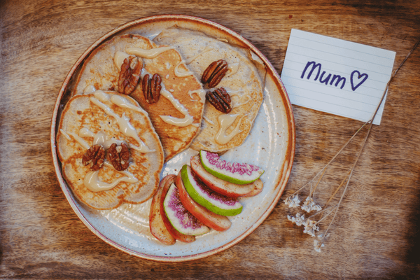 A Treat For The Mamas – Salted Caramel Buckwheat Pancake Recipe