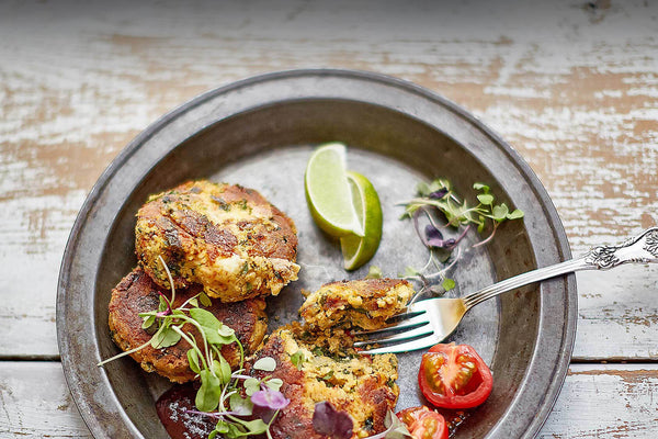 Kumara, Quinoa and Kale Fritters Recipe