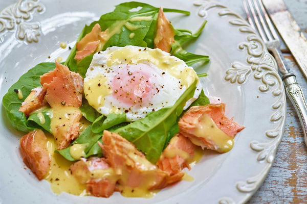 Egg Florentine with Smoked Salmon Recipe