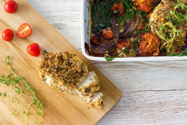 BePure Brazil Nut Crusted Chicken Recipe