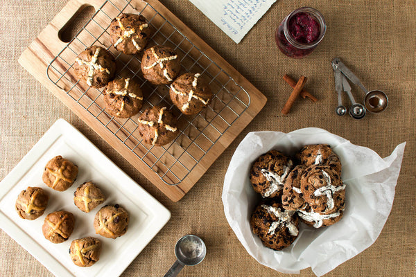 The BePure Champion 'Hot Cross Muffin' Recipe