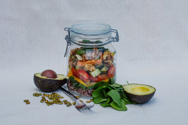 Nourishing Summer Salad Jars