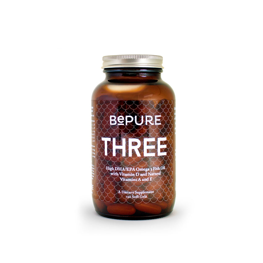 BePure Three - Omega 3 Fish Oil