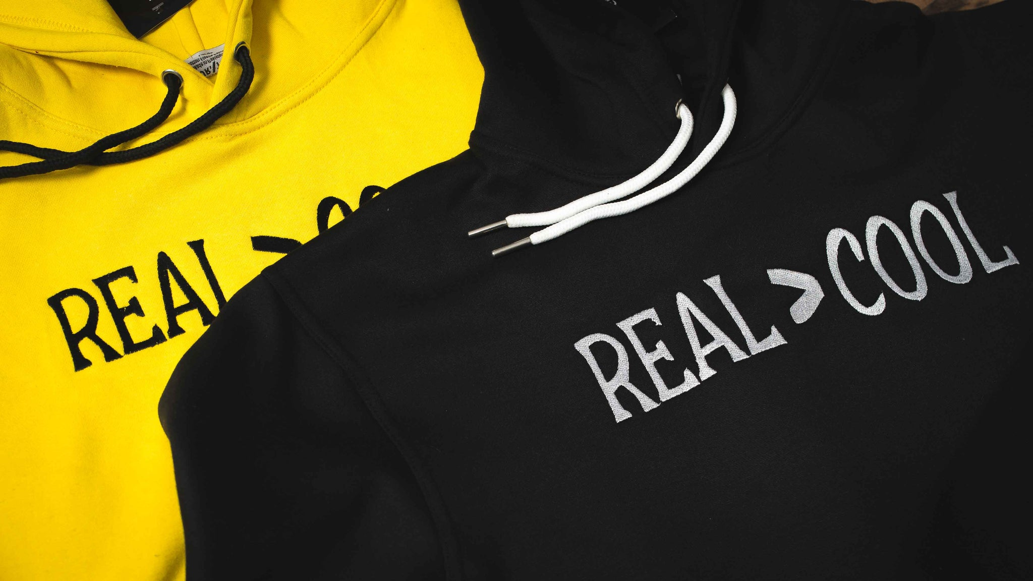 REAL is GREATER THAN Cool Hoodie