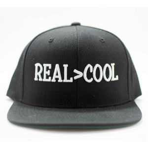 Real > Cool Hat Black