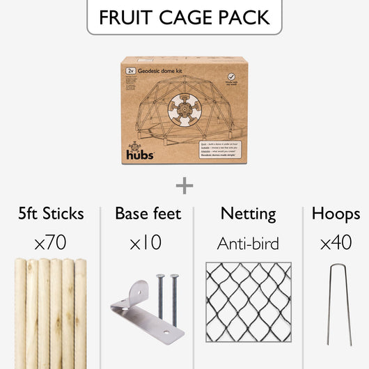 Fruit / vegetable cage pack