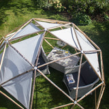 Shade sail - Light grey (for 3.2m diameter dome)