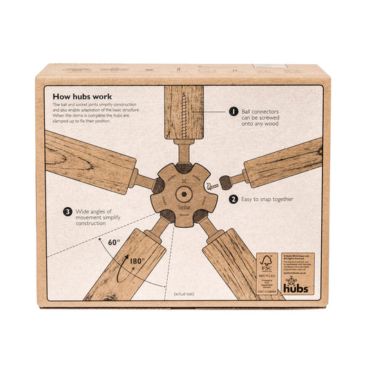 Hubs Geodesic Domes Made Simple Build With Hubs
