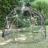 "Ready to build: 3.2m (10' 6"") Pod Dome Fruit Cage"