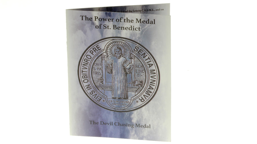 100 Saint Benedict Prayer Booklets