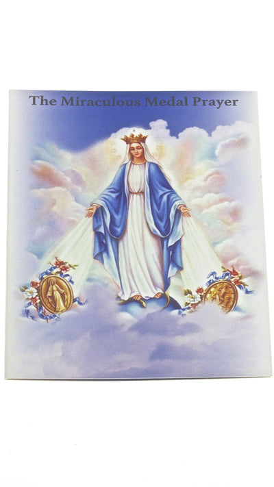 100 Miraculous Medal Prayer Cards