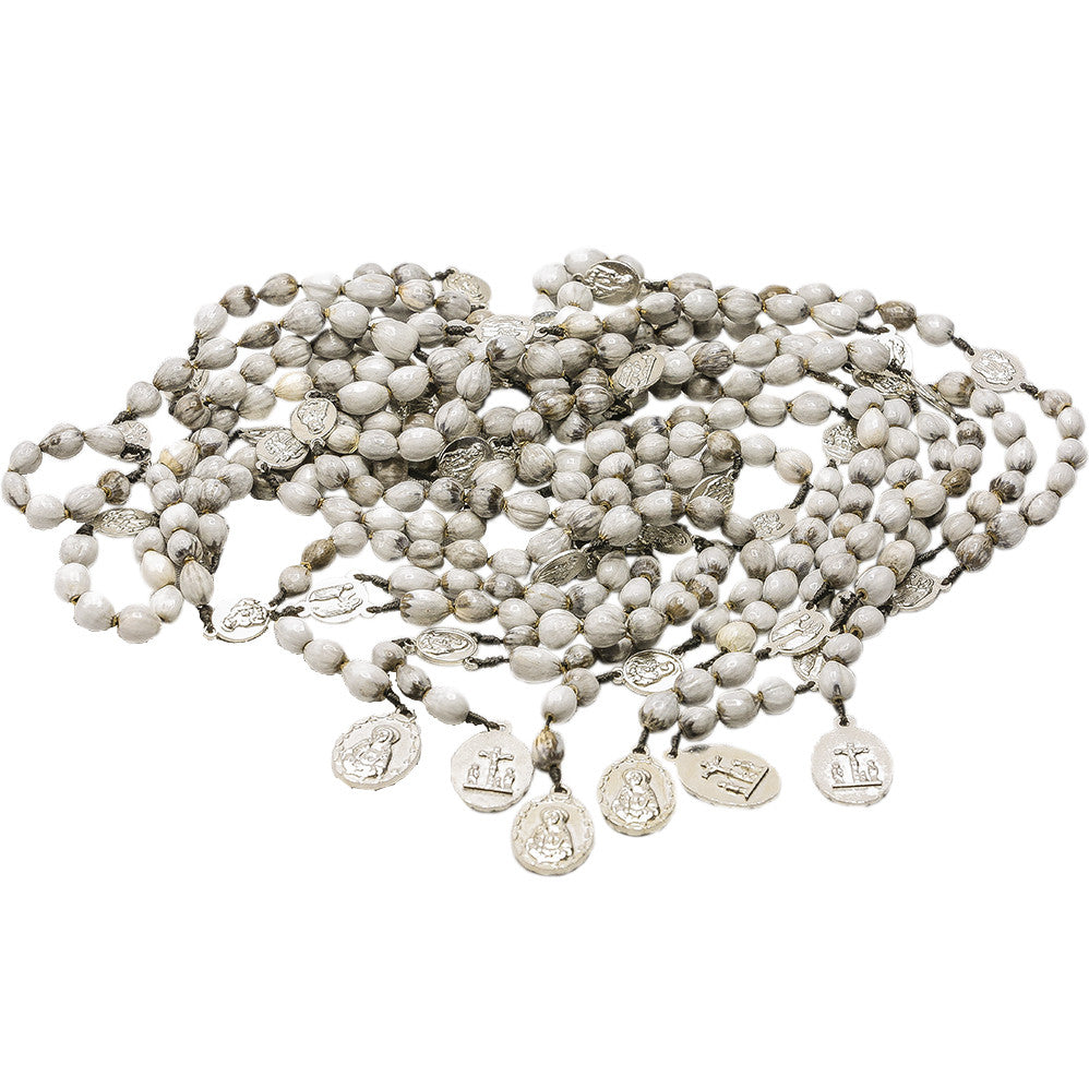 10 Rosary of the 7 Sorrows Job Tears Seeds (From Natural Flower from Rwanda)