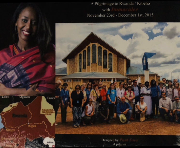 A Pilgrimage to Kibeho/Rwanda with Immaculee Nov. 23-Dec. 01 2015 Photo Book