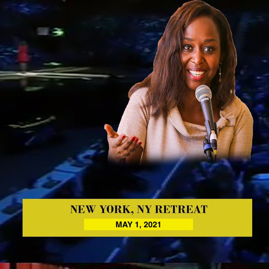 RETREAT IN NEW YORK, MAY 1, 2021 WITH IMMACULEE