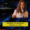 RETREAT IN Odessa, TX October 17, 2020 with Immaculee