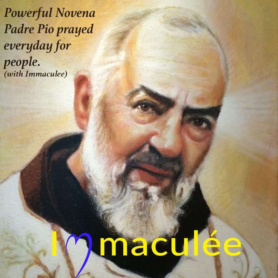 The Novena of Padre Pio MP3 Audio Download by Immaculee Ilibagiza
