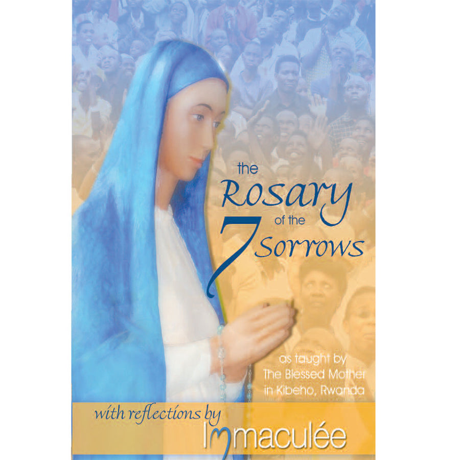 10 Seven Sorrows Rosary Booklet with Immaculee