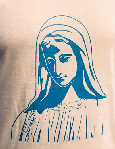 Virgin Mary White t-shirt