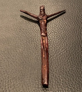 Hand Carved Jesus on the Cross