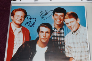 "Autographed Photo ""Anson WIlliams and Donnie Most"""