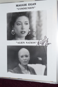 "Autographed Photo ""Maggie Egan"""