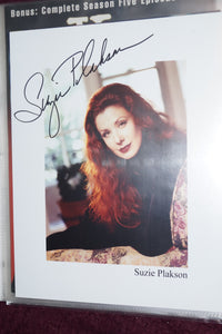 "Autographed Photo ""Suzie Plakson"""