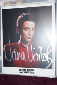 "Autographed Photo ""Nana Visitor"""