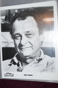 "Autographed Photo ""Jerry Hardin"""