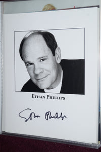 "Autographed Photo ""Ethan Phillips"""