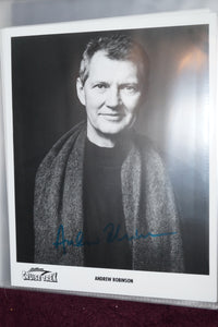 "Autographed Photo ""Andrew Robinson"""