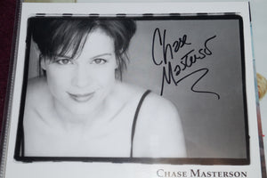 "Autographed Photo""Chase Masterson"""