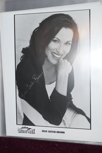"Autographed Photo ""Julie Caitlin Brown"""