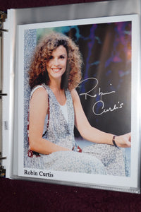 "Autographed Photo ""Robin Curtis"""