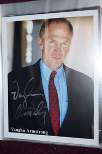 "Autographed Photo ""Vaughn Armstrong"""