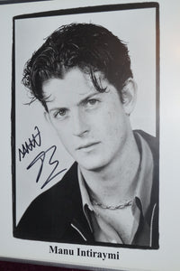 "Autographed Photo ""Manu Intiraymi"