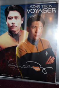 "Autographed Photo ""Garrett Wang"""