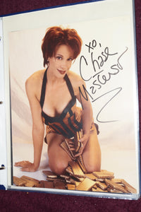 "Autographed Photo ""Chase Masterson"""