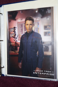 "Autographed Photo ""Dominic Keating"""
