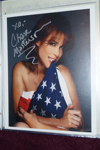"Autographed Picture ""Chase Masterson"""