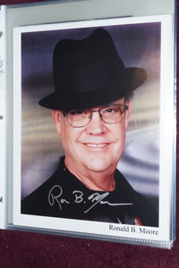 "Autographed Photo""Ronald B Moore"""