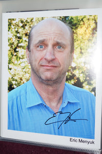 "Autographed Photo ""Eric Menyuk"""