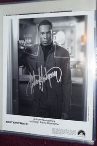 "Autographed Photo ""Anthony Montgomery"""