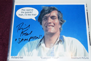 "Autographed Photo ""Richard Kiel"""