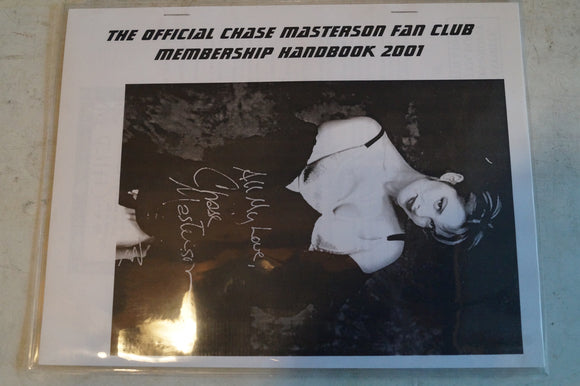 Chase Masterson Fan Club Pack