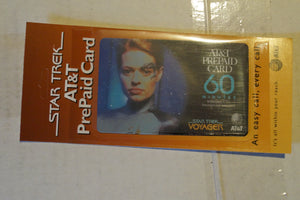 Star Trek AT&T Phonecard Seven of Nine,