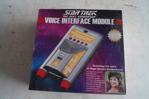 Star Trek The Next Generation Voice Interface Module