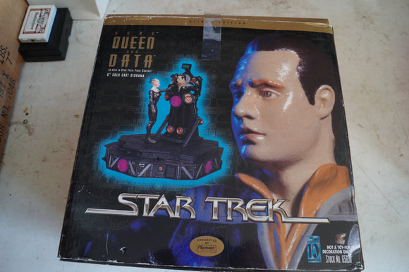 Latinum Edition Borg Queen and Data as seen in First Contact.