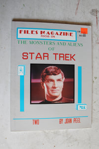 Files Magazine Focus on The Monsters and Aliens of Star Trek