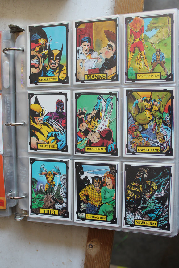 Wolverine Collector Card Set