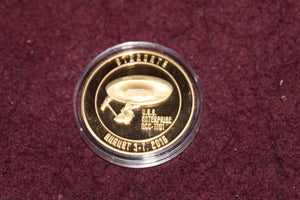 LasVegas Hilton Collector Coins Original Series Enterprise